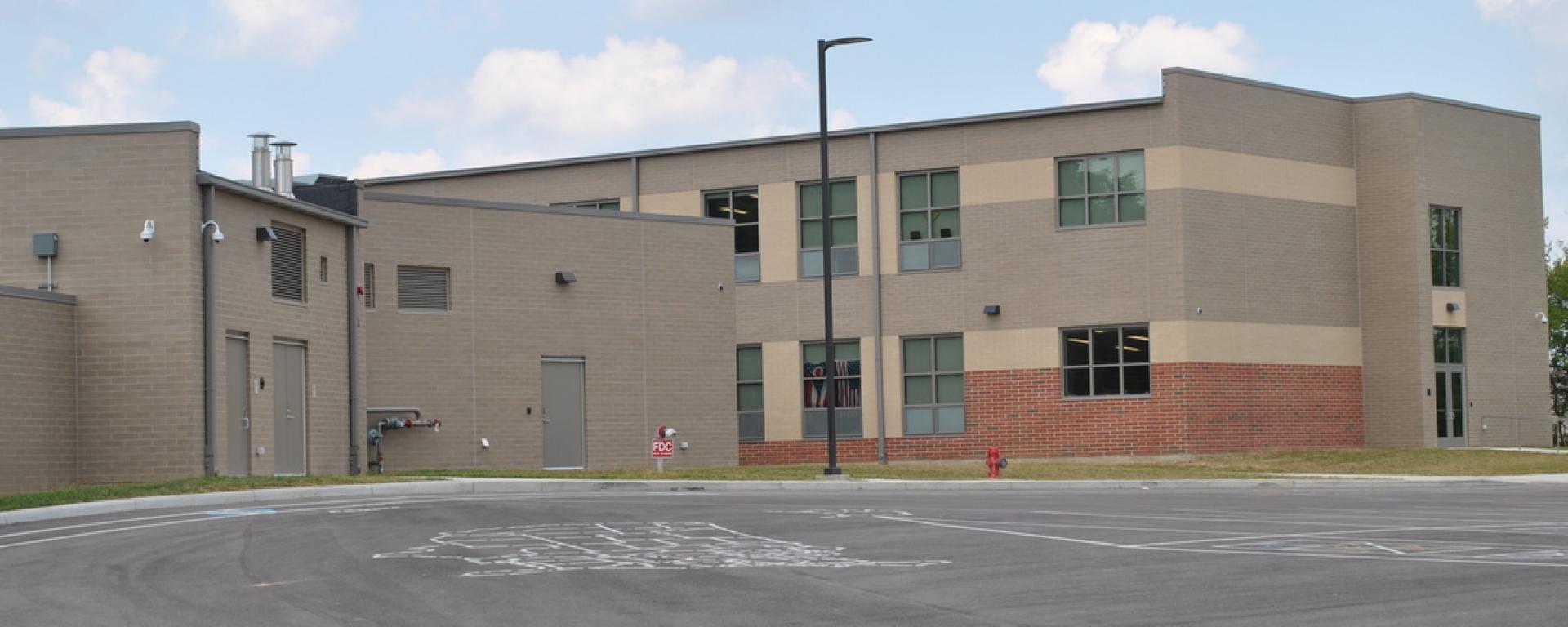 Side view of Kramer Elementary