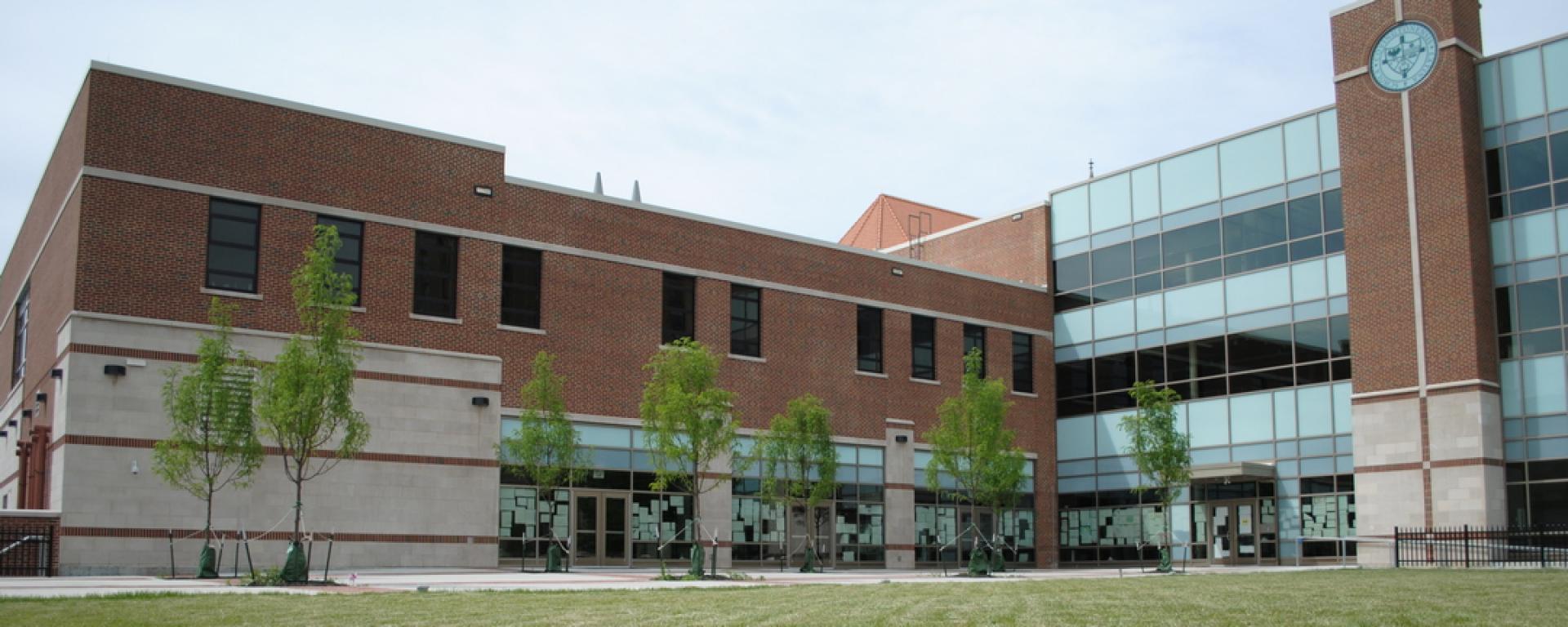 Front profile of Covington Latin School