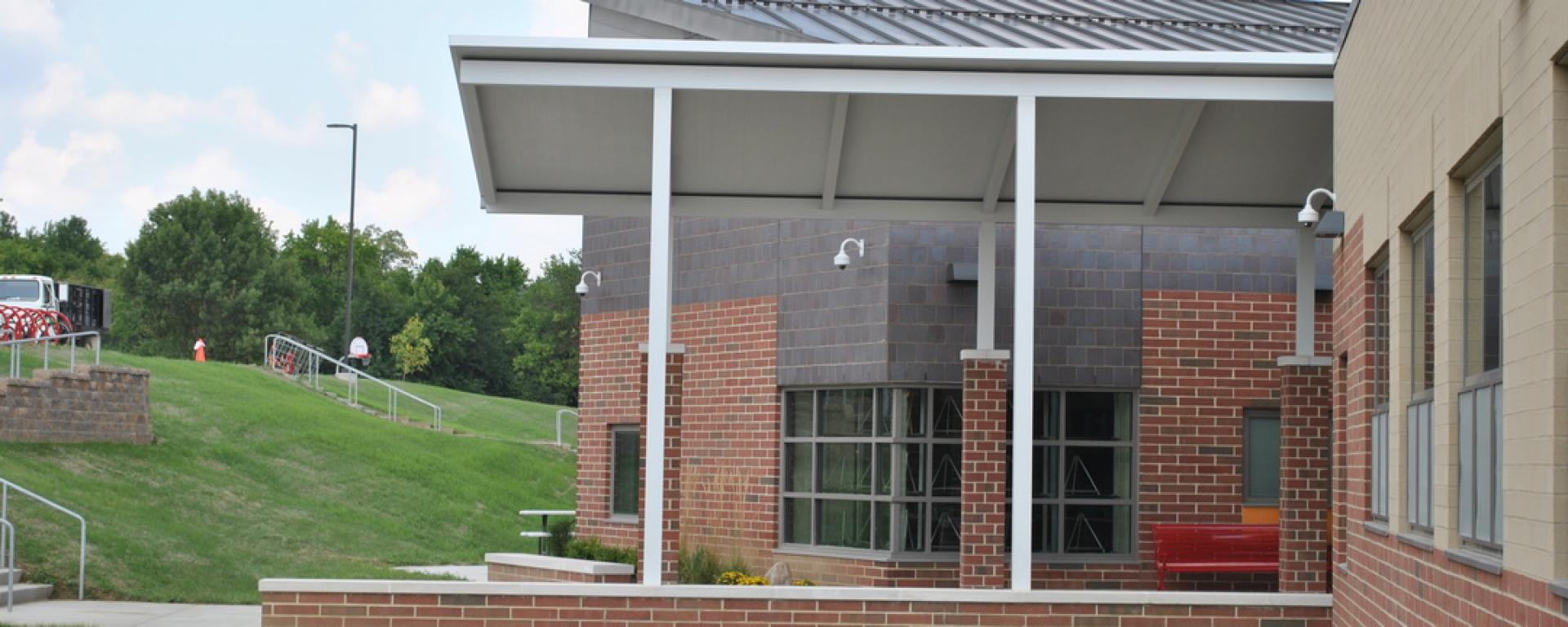 Front Entrance of Kramer Elementary