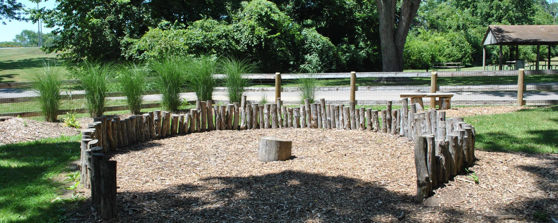 wood balance structure